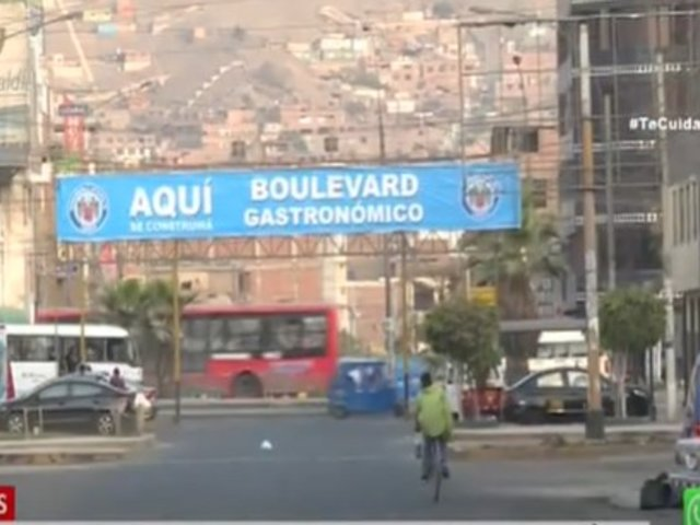 Municipalidad de Comas convertirá zona de discotecas en un boulevard gastronómico