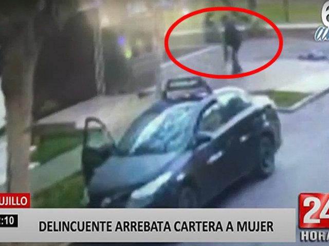 Trujillo: delincuente usa taxi para robar a sus víctimas