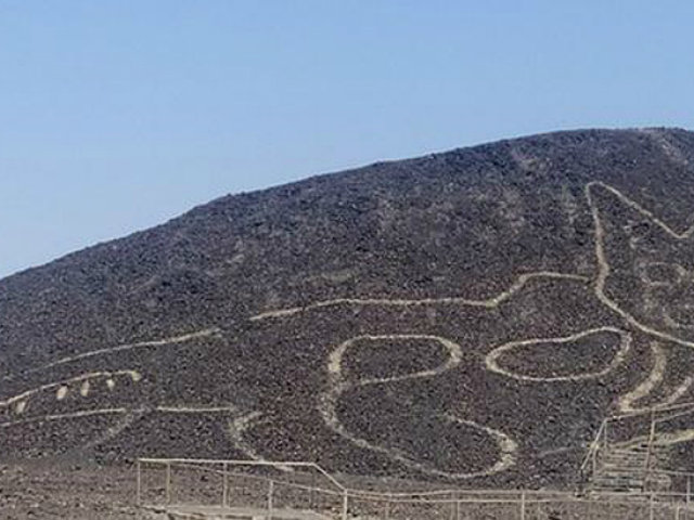 Ministerio de Cultura informó sobre nuevo geoglifo hallado en la Pampa de Nazca