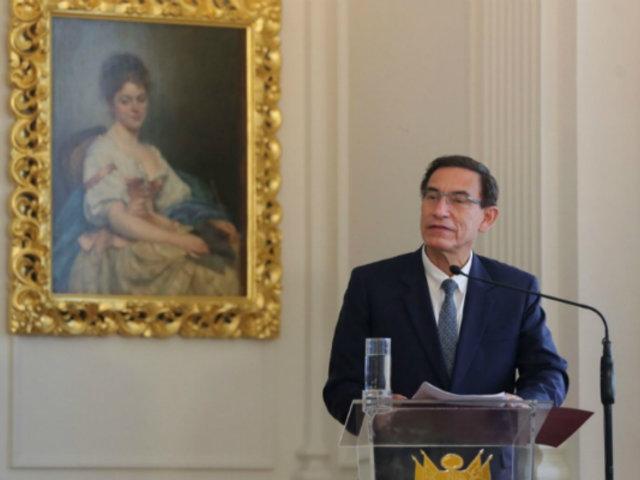 Presidente Vizcarra: decisión del JNE establece reglas de juego para Elecciones 2021