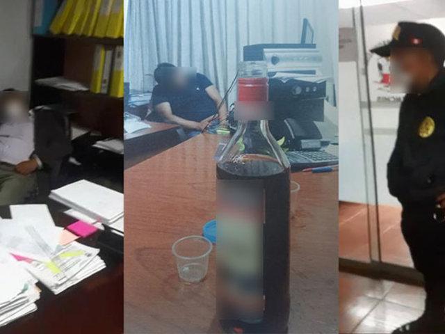 Cusco: funcionarios del municipio de Canchis son intervenidos en plena fiesta
