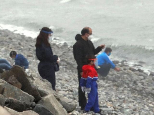 """Martín Vizcarra: """"Estamos permitiendo el uso de las playas de lunes a jueves"""""""