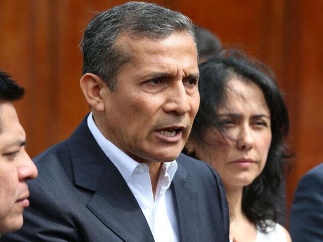 Caso Odebrecht: rechazan habeas corpus  a favor de  Humala contra Jueces de Primera Sala Penal