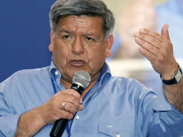 """Cesar Acuña tras reunión con Sagasti: """"APP dará todo el respaldo y apoyo al gobierno"""""""