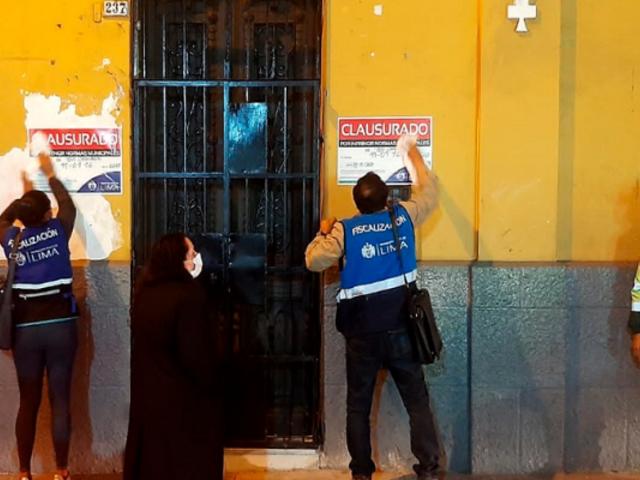 Cercado de Lima: clausuran y sancionan con una multa de S/ 2,850 bar que incumplía medidas de bioseguridad