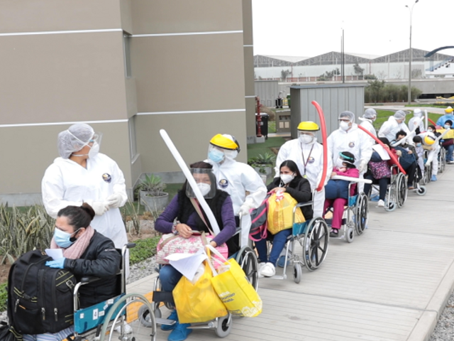 Más de 17 mil pacientes con COVID-19 fueron atendidos en Villa Panamericana de EsSalud