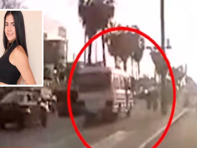 Chófer de cúster embiste y mata a profesora de natación artística en Los Olivos