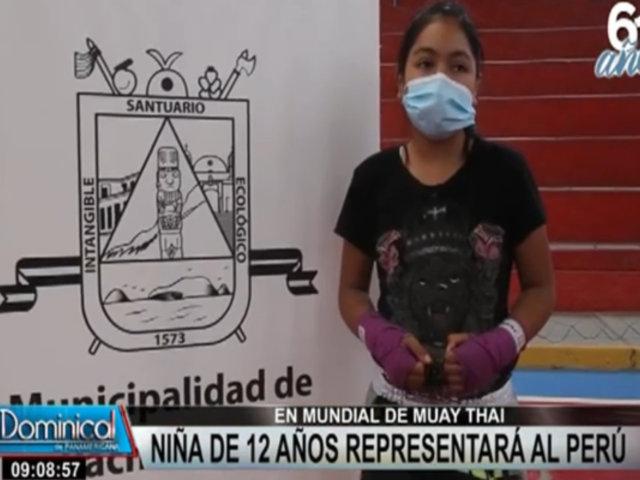 Mundial de Muay Thai: conoce a la niña de 12 años que representará al Perú