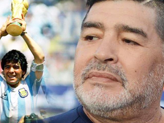 Diego Armando Maradona y su saludo peronista que sorprendió a todos