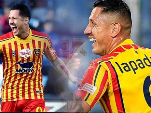 Lapadula anotó gol a la Roma en la Serie A de Italia