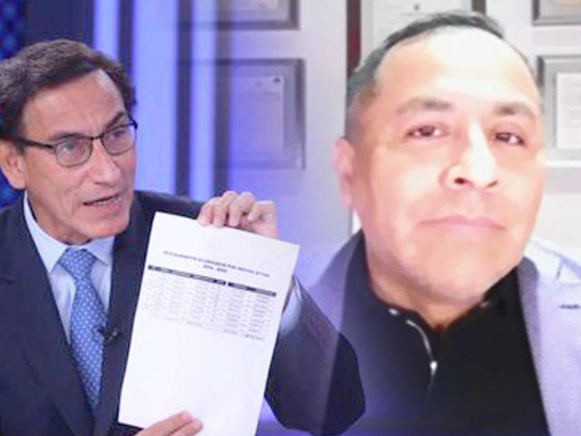 El presidente Vizcarra podría ser investigado por los delitos de cohecho y colusión desleal, según especialistas