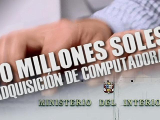 ¡Exclusivo! MININTER gastó S/ 30 millones en compras de computadoras
