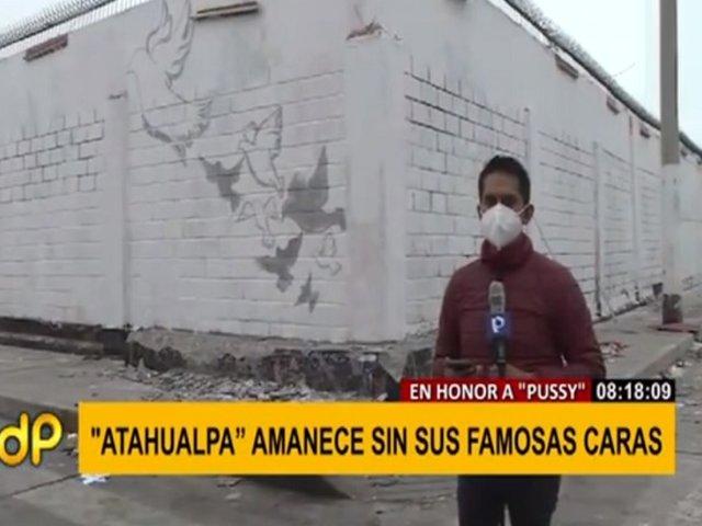 """Callao: """"Las caras de Atahualpa"""" fueron borradas tras el asesinato de su promotor"""