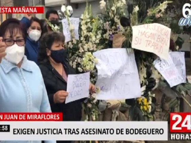 SJM: vecinos buscan justicia tras fallecimiento de bodeguero