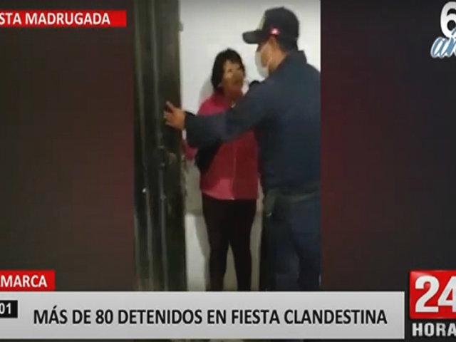 Huarochirí: intervienen a más de 80 invitados en fiesta chicha