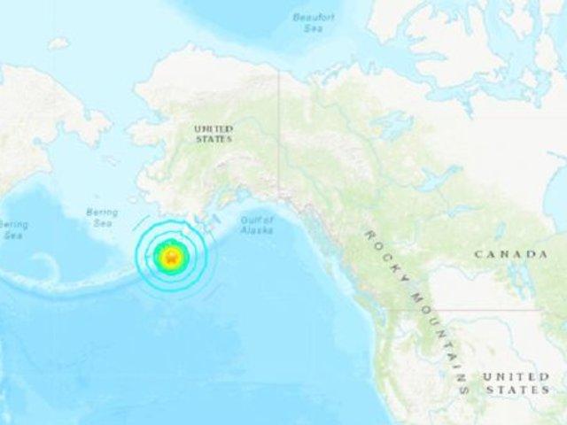 Estados Unidos: alerta de tsunami en Alaska tras terremoto de magnitud 7.5