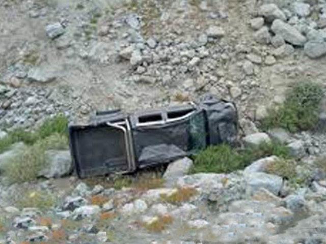 Puno: tres muertos y cuatro heridos deja caída de camioneta  a un abismo
