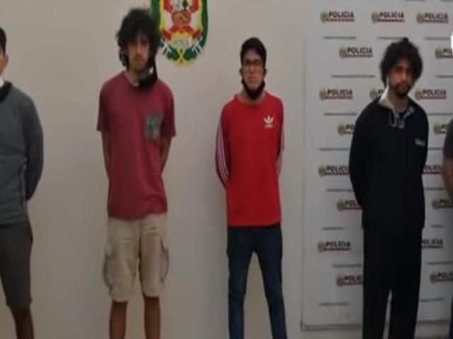 Detienen a cinco sujetos acusados de abusar sexualmente de una joven en Chacarilla