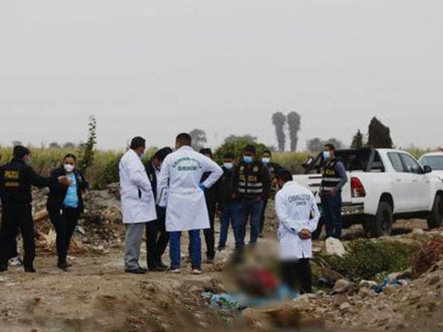 Puente Piedra: hallan en terreno agrícola el cuerpo descuartizado de un hombre