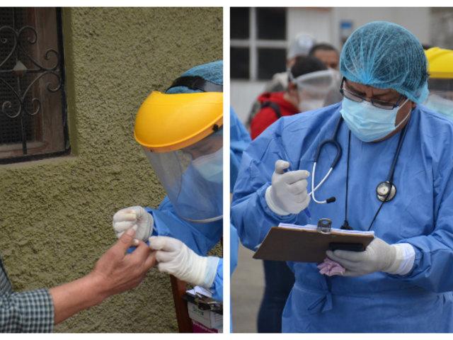 Operación Tayta: Minsa atendió a más de 3 mil personas en San Juan de Miraflores