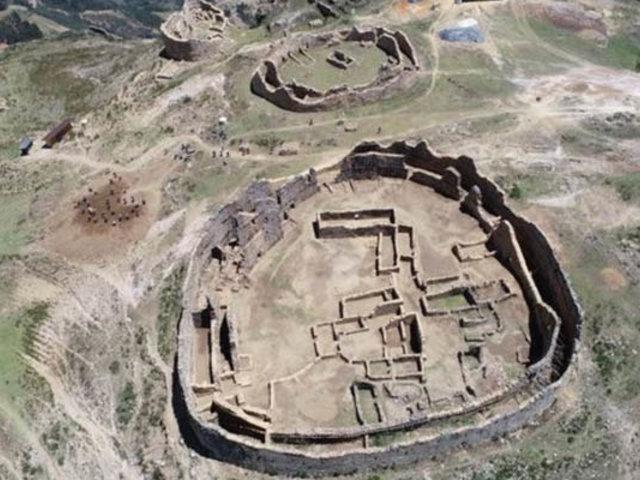 Realizan labores de conservación en complejo arqueológico Marcahuamachuco en La Libertad
