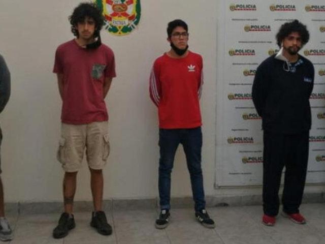 Violación en Surco: los cinco implicados fueron trasladados al penal de Ancón