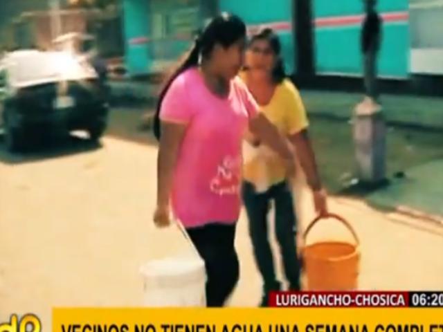 40 años de espera: AH Alto Huampaní afronta el COVID-19 sin agua potable