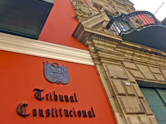 Tribunal Constitucional: hoy se inicia concurso público para elección de magistrados
