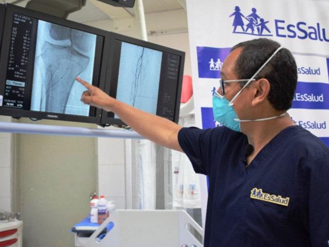 EsSalud: Evitan más de 60 amputaciones en pacientes diabéticos con moderno tratamiento