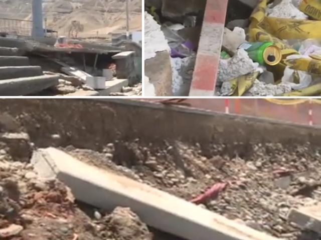 Chorrillos: malecón La Herradura luce completamente abandonado