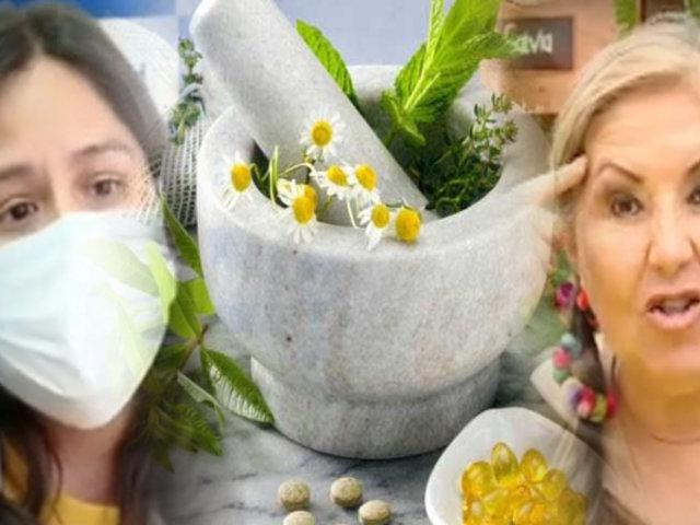 ¿La medicina natural ayuda, pero no cura?
