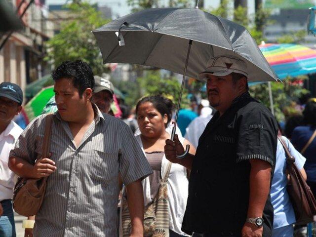 Selva peruana soportará nueva ola de calor con temperaturas próximas a 37 °C