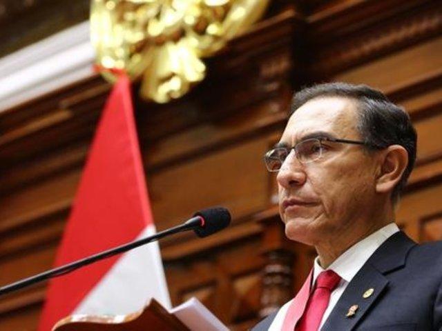 Congreso decidirá admisión de vacancia presidencial en noviembre