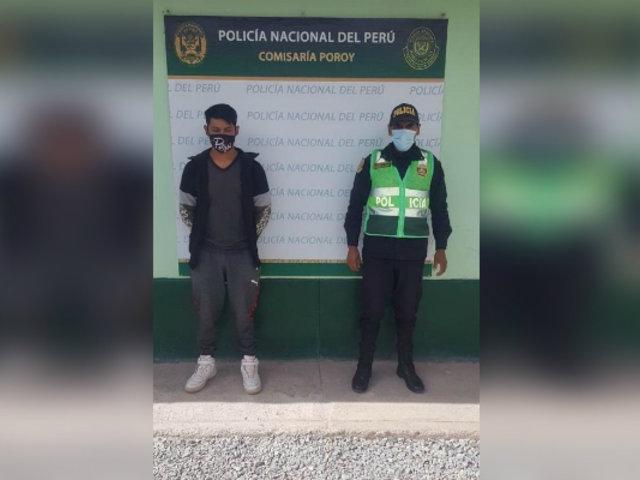 Cusco: capturan a sujeto acusado de violación colectiva en agravio de una anciana