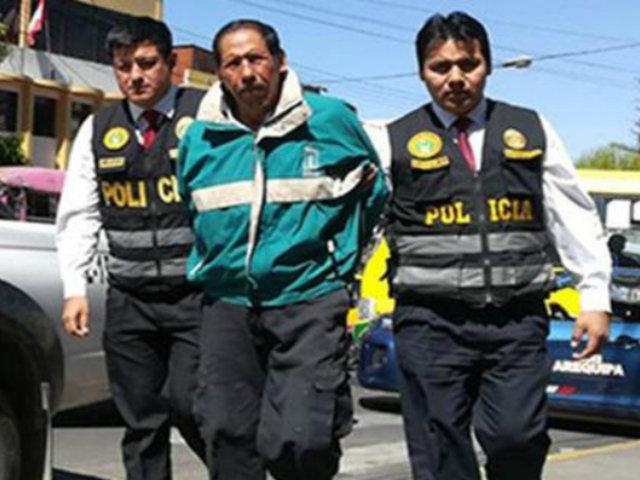 Arequipa: condenan a 35 años de cárcel a hombre que mató a anciano en su vivienda