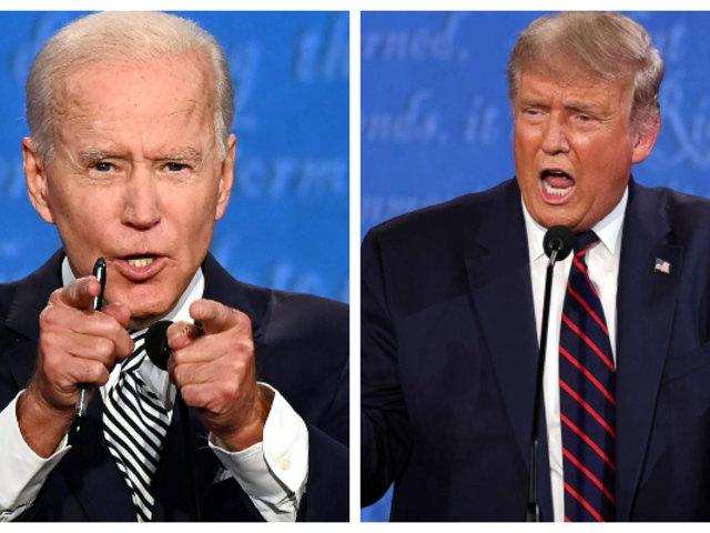 Joe Biden y Donald Trump se miden en último debate presidencial