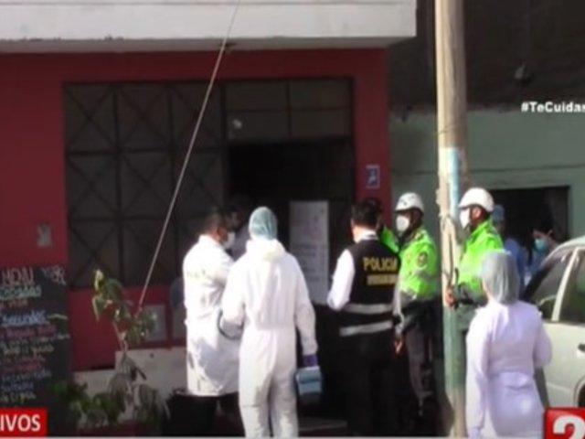 Los Olivos: Delincuentes asesinan a balazos a un hombre cuando almorzaba en restaurante
