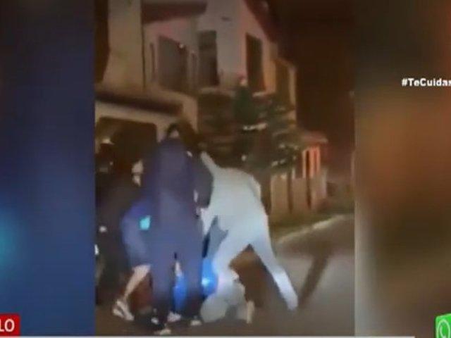 Trujillo: Vecinos se unen y evitan que delincuente se escape