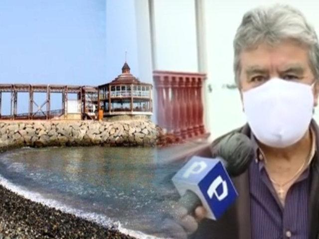 Alcalde de La Punta decepcionado con medidas del Gobierno para el uso de playas