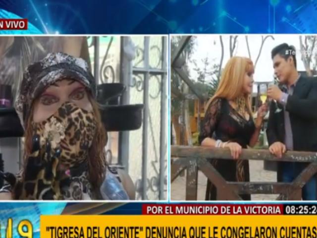 'Tigresa del Oriente' denuncia que municipio de La Victoria le congeló cuentas