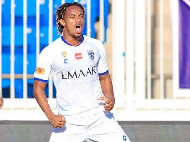 Mira el golazo de André Carrillo en el empate del Al Hilal y Abha
