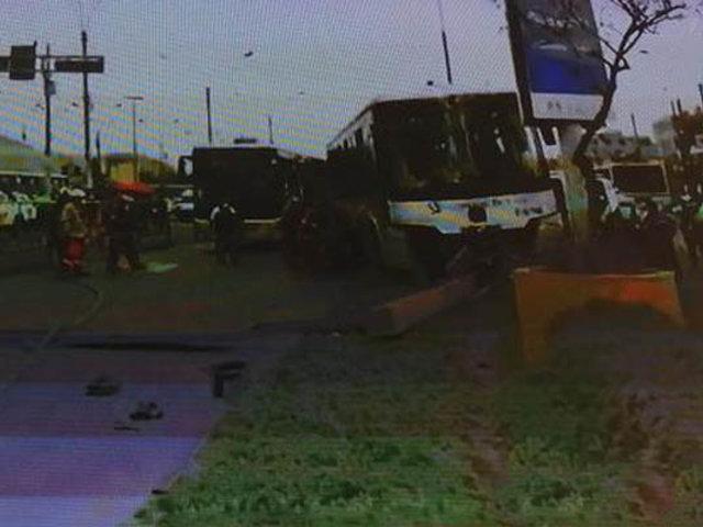 Choque de buses del Metropolitano deja 15 heridos en San Martín de Porres