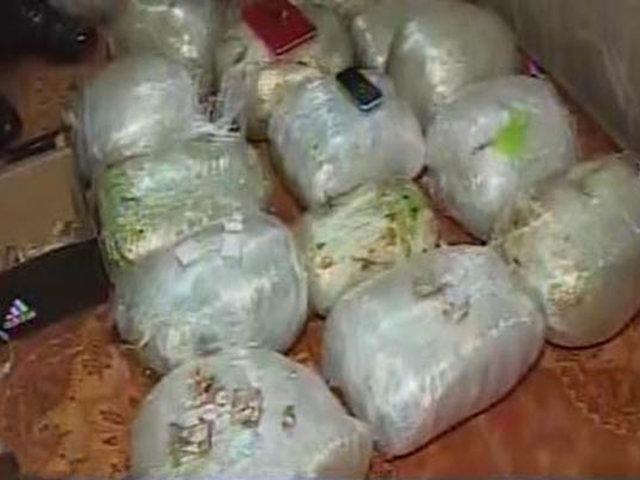 SMP: incautan 30 kilos de droga que iba ser distribuida en diferentes distritos de la capital
