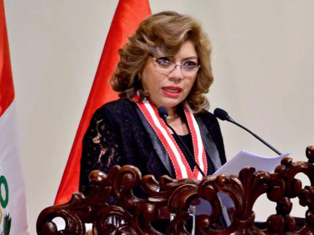 Ávalos ratifica negativa a pedido de Equipo Lava Jato para investigar a presidente Vizcarra