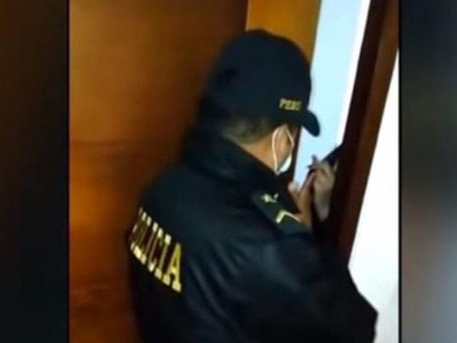 Intervienen a nueve personas durante una fiesta en pleno toque de queda en Surquillo