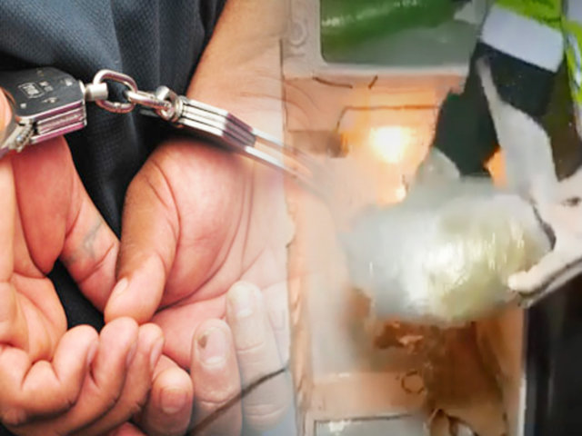 PNP incautó 30 kilos de marihuana en vivienda de SMP