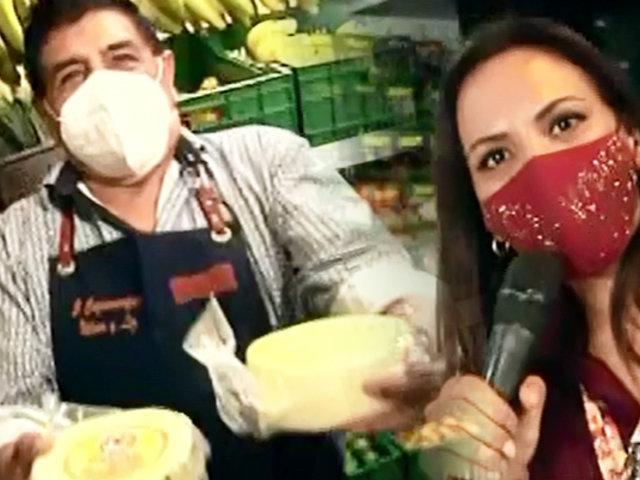 """Nílver Huárac y su nueva vida: De productor musical a """"Rey de los quesos"""""""