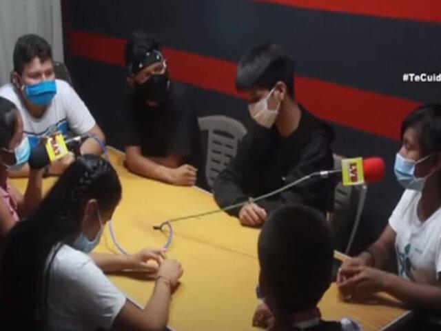 Loreto: adolescentes promueven planificación familiar con programa radial