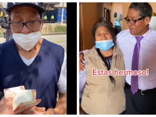 Incendio en 'La cachina': Osito Lima llevó ayuda a uno de los afectados en SJL