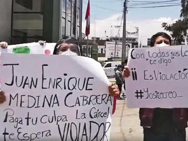 Huancayo: exigen captura de sujeto que abusó sexualmente  de una mujer de 61 años